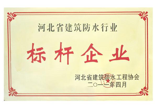 河北省建筑防水标杆企业